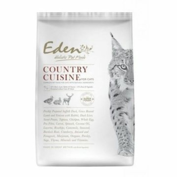 EDEN HOLISTIC 85/15 COUNTRY CUISINE CAT FOOD 400G