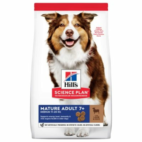 HILL S SCIENCE PLAN CANINE MATURE LAMB & RICE 14 KG