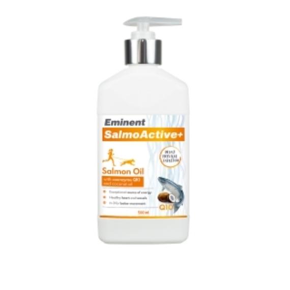 Eminent SalmoActive+ (lazacolaj Q10 koenzimmel és kókuszolajjal) 500ml