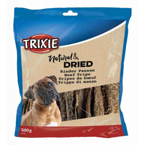 trixie Szárított marhapacal - jutalomfalat kutyáknak (500g)