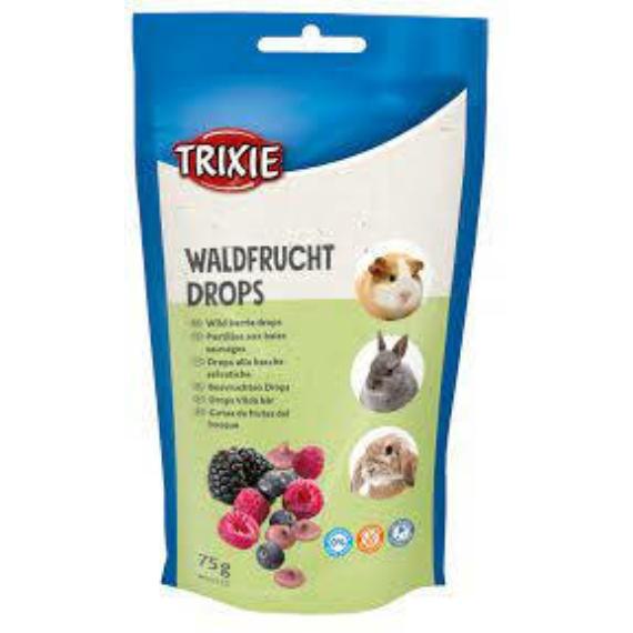 Trixie Wild berry drops - jutalomfalat (erdei gyümölcs) rágcsálók részére (75g)