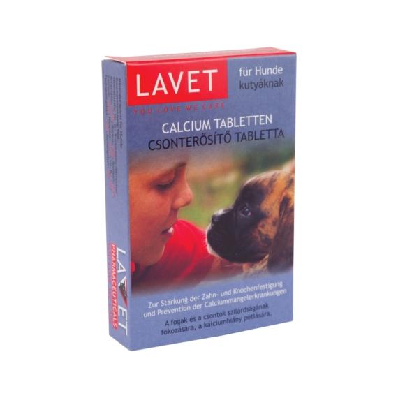 LAVET CALCIUM TABLETTA KUTYA