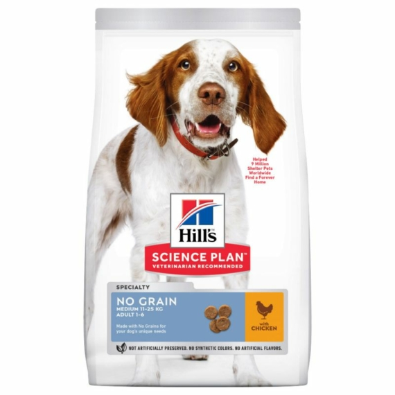 HILL S SCIENCE PLAN CANINE ADULT NOGRAIN CHICKEN 14 KG