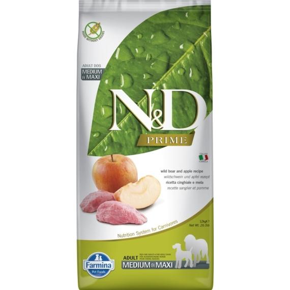 N&D DOG PRIME VADDISZNÓ&ALMA ADULT MEDIUM&MAXI