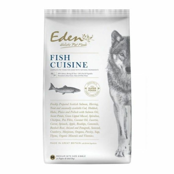 EDEN HOLISTIC 80/20 FISH CUISINE SMALL 6KG