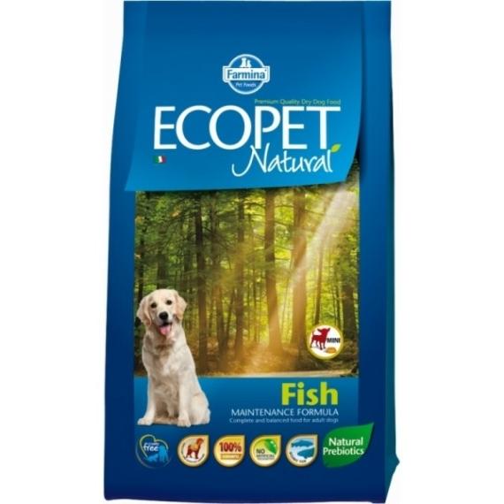 ECOPET NATURAL FISH MINI 14KG