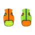 Kép 1/5 - AiryVest kutyaruha kifordítható, S 35,narancs-zöld